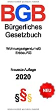 Bürgerliches Gesetzbuch 2020: Neueste Auflage (Stand: 12. Juni 2020) - Gesetzestext - Allgemeiner Teil - Mietrecht - Erbre...