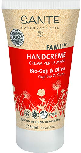 SANTE Naturkosmetik Handcreme Bio-Goji & Olive, 30ml