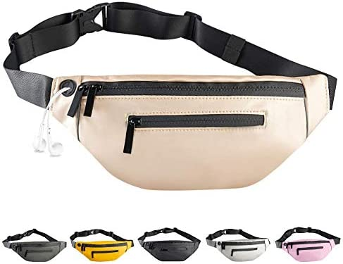 Enicuter Waterproof Fanny Pack for Men Women Leather Kids Girls Waist Bag Fashionable Adjustable product image