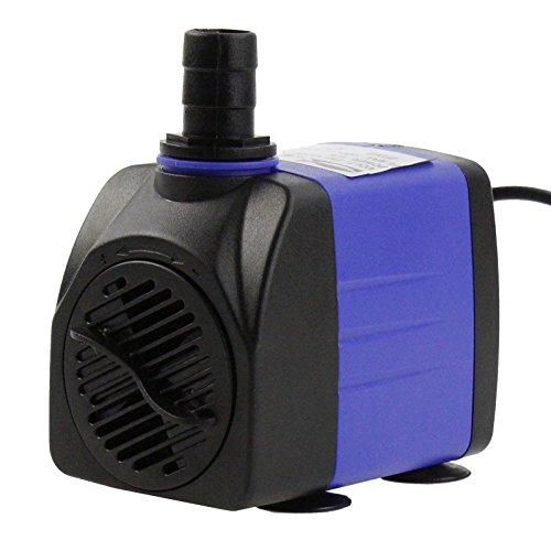 AQUANEAT 400 GPH Submersible Water Pump Adjustable Powerhead Aquarium Fish Tank Fountain Hydroponic