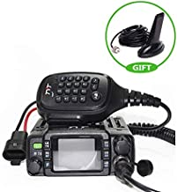 TYT TH-8600 Mini Dual Band IP67 Waterproof Mobile Transceiver 136-174MHz/400-480MHz 25W Amateur Car Radio HAM Mobile Radio + USB Programming Cable with CD Driver