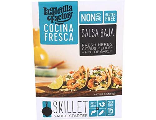 La Tortilla Factory Cocina Fresca Skillet Sauce Starter 3 oz 6 pack