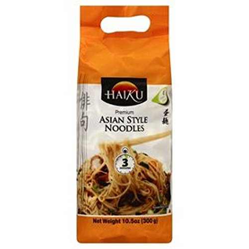 HAIKU (I-D FOODS), NOODLES, ASIAN, Pack of 8, Size 10.5 OZ - No Artificial Ingredients Dairy Free Yeast Free