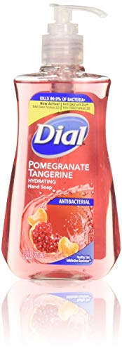 Dial Pomegranate & Tangerine Antibacterial Hand Soap with Moisturizer 7.5 Oz. (Pack of 4)