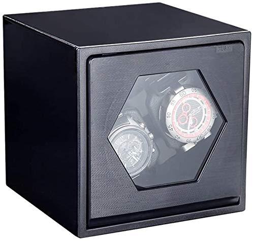 Watch-Wickler, doppelte Uhr High-End-Klavier, gemalt Automatischer Uhrenwickler, stumm rotierender Motor, Anti-Magnetisierung,