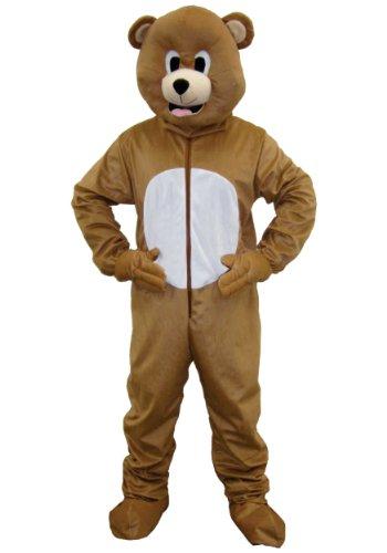 Dress Up America 593 - Costume per travestimento da Orso bruno, Unisex adulto, colore: Marrone