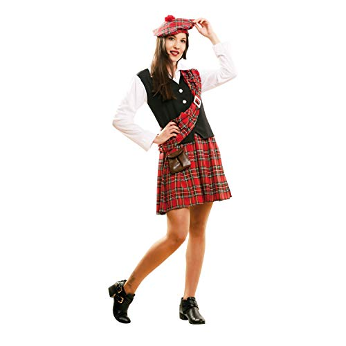 My Other Me Me-202160 Disfraz de escocesa para mujer, M-L (Viving Costumes 202160)