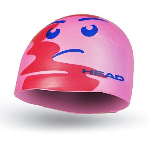 HEAD Kinder Cap Silicone Sketch, Unisex Kinder, Cap Silicone Sketch, Rosa, Einheitsgröße