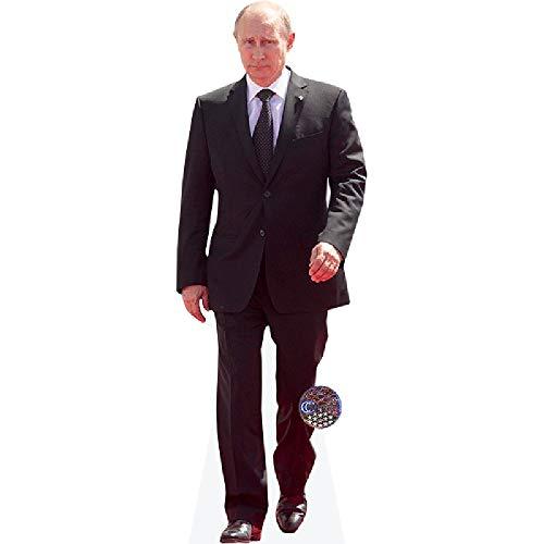 Celebrity Cutouts Vladimir Putin (Suit) Pappaufsteller Mini