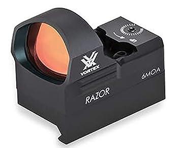 Vortex Optics Razor Red Dot Sight - 6 MOA Dot  black  3.25x5x6