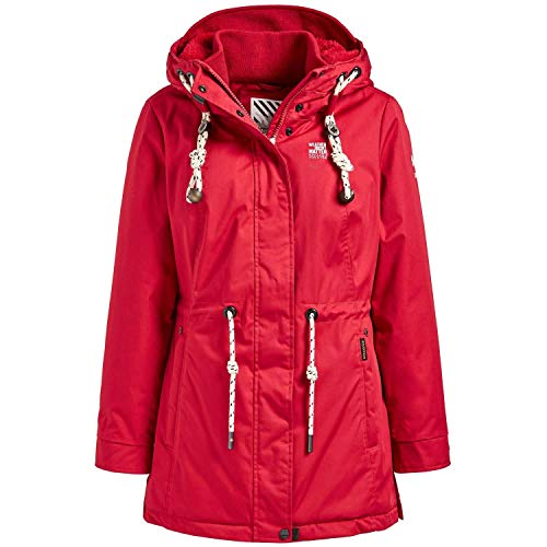 khujo Damen Winterparka Raga 1085JK193 Red XL