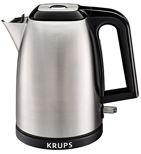 KRUPS BW311050 SAVOY Electric Kettle, None, Silver