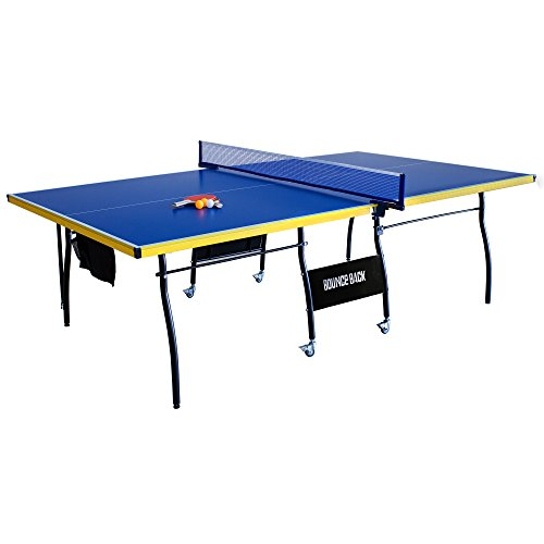 Hathaway Bounce Back Table Tennis - Regulation-Sized 9'x5' Blue...