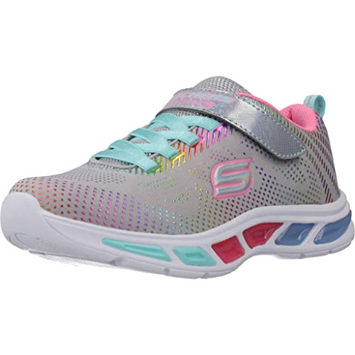 Skechers Kinder Low Litebeams - Gleam N' Dream,Gra 10959L GYMT grau 611773