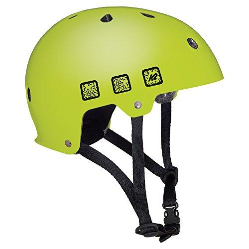 K2 Kinder Inline Skates JR Varsity Helm - Lime - L (59-61cm) - 30C4202.1.1.L