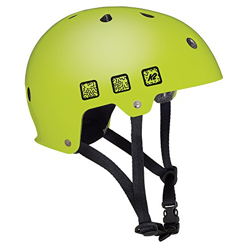 K2 Kinder Inline Skates JR Varsity Helm - Lime - M (55-58cm) - 30C4202.1.1.M