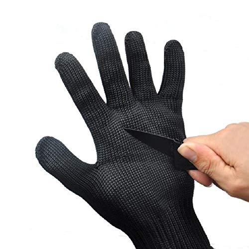Schnittfeste Handschuhe Outdoor Schnitthandschuhe Lebensmittelqualität Küchenhandschuh Edelstahl Drahtgeflecht Handschuhe für Männer und Frauen