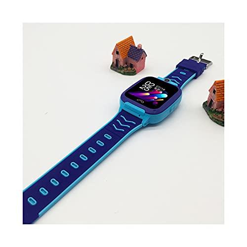PYAIXF Reloj Inteligente para Niños Niñas, Multifunción 1,44 Pulgadas Reloj De Teléfono para Niños Videollamada HD Bidireccional Posicionamiento Auxiliar Disparo Remoto 1,3 Millones De Píxeles-Blue
