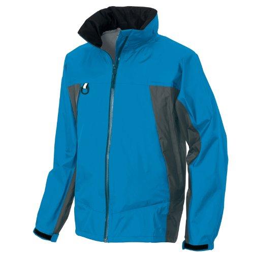 ディアプレックス 全天候型ジャケット AZ-56301 ブルー×チャコール 4Lサイズ