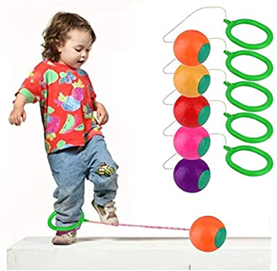 Skip It Ankle Toy Retro Skipit Toy Hopper Ball for All Ages - Best Swing Ball Game for Boys Girls and Kids,Fun Excercise, Active and Smile. Play Indoor and Outdoor