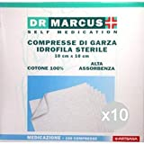 Marcus Set 10DR Comprimidos Gasa 10X 10100Unidades parafarmacia, Multicolor, única