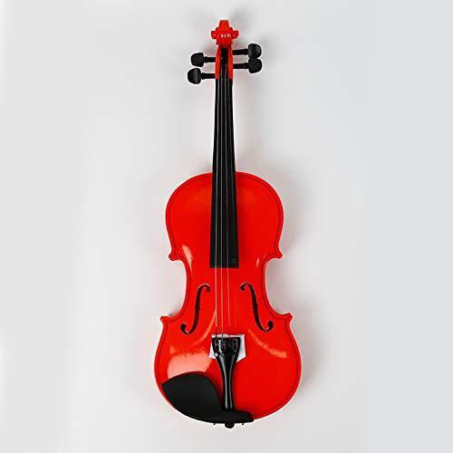 Contrachapado de tilo violín rojo placa estudiante de piano AZHAA (Color : Red)