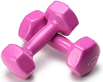 BalanceFrom GoFit All-Purpose Dumbbells with Rack (Pair)