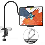Klsniur Gooseneck Tablet Holder, Universal Tablet Stand 360...