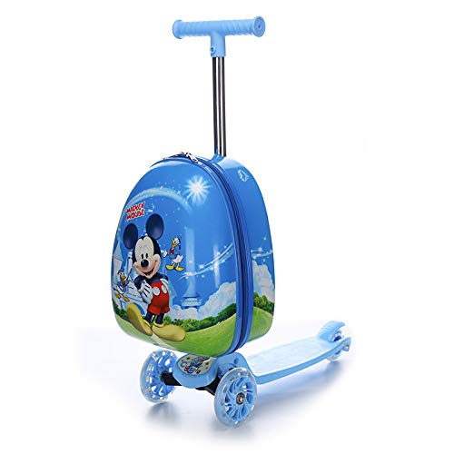 SONGXZ Skateboard Kinderkoffer New Skateboard Kinderkoffer Cartoon Anime Suitcase