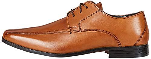Find. Arlo_Hs01 Zapatos De Cordones Derby, Marrón (Classic Tan Classic Tan), 43