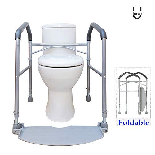 Aufstehhilfe Toilette,Toilettengestell,Harrier Toilettengestell,Toilettenstütz,Wc-Stützhilfe(Aaa)