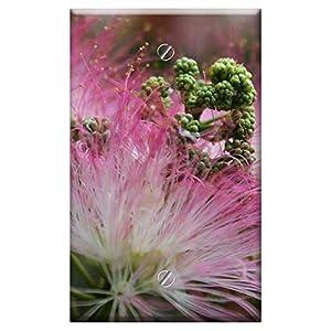 WallPlate 20200401 – Flower Pink Blossom Mimosa Silk Summer Nature