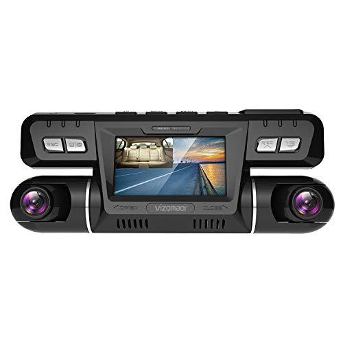 Dual Dash cam | Vizomaoi Dual 1920x1080P FHD | Front and Cabin...