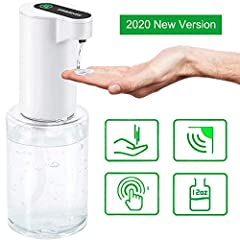 &#10022 Automatic Sensor Operated: Could be filled with Hand Refreshing Gel for Cleaning your hands conviently without washing. Automatic type with smart senor£¬get your hand clean without touching the bottle. &#10022 Automatic Hand Sanitizer Gel Dis...