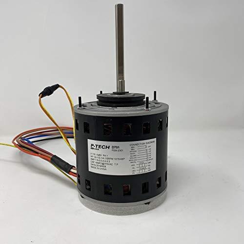 48 Frame Motor | Replaces: Fasco D701 & Dayton 161M30