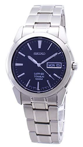 Seiko Men's SGG729 Titanium Titanium Bracelet Watch