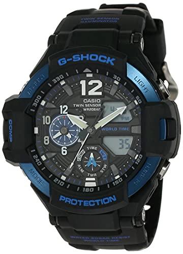 Casio G-Shock Analog-Digital Blue Dial Men's Watch - GA-1100-2BDR(G639)