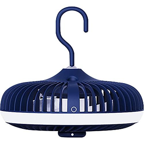 Velocidad Del Viento Ajustable Ventilador De Techo Colgante Pequeño Con Ventilador Suplementario De Lámpara Azul