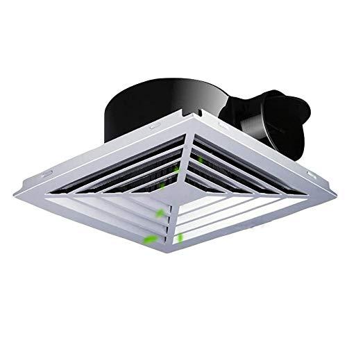 YKAMM Ventilador de Escape de ventilación de Montaje en Pared de Techo de Ventana de bajo Ruido, Ventilador de Cocina de baño, Sistema de hogar