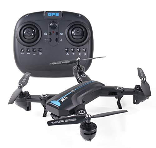Drone HD CáMara GPS Volver Quadcopter para Adultos Principiantes con Motor Sin Escobillas TransmisióN WiFi Compatible Video Selfie,720P/5G