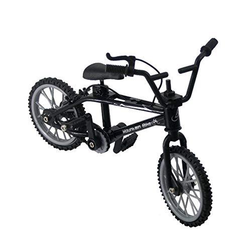 Bicicleta de Dedo, Modelo de Mini Bicicleta, Modelo de Bicicleta de Dedo de Metal en Miniatura Bicicleta de montaña de Dedo Desmontable Juguetes de Bicicleta creativos para niños Niños Niños