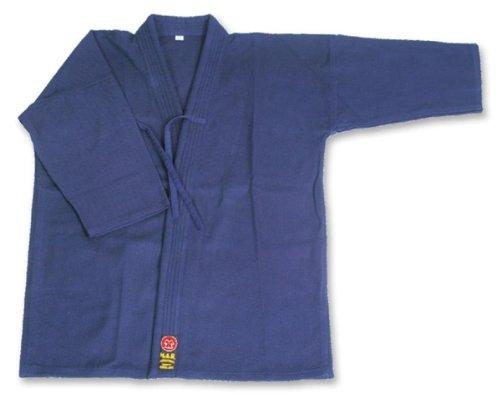 M.A.R International Ltd. Kendo Jacket Keokogo Aikido Laido Gear Cotton Fabric Navy Blue 140Cm