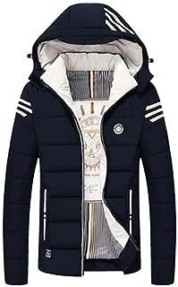 HANGON Men Parka Winter Jack Quality Brand Winter Coat Men Warm Casual Mens Coats and Jackets with Hood 4XL