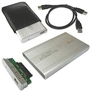 SODIAL(TM) 2.5 pulgadas SATA USB 2.0 Caja Disco Duro Caja HDD Hd: Amazon.es: Electrónica