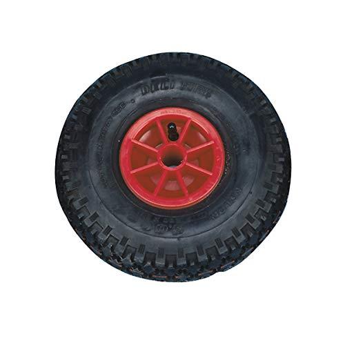 Certeo aufblasbares Rad auf Kunststofffelge | Gleitlager | Ø 30 cm | Reifen Rad Kunststoffreifen Kunststoffrad