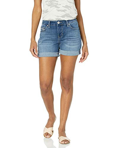 Jag Jeans Women's Alex Boyfriend Short, Brilliant Blue, 0