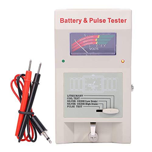 Batterie-Tester, Quarz-Uhren-Analysegerät, Pulsmesser, mit Kunststoffmaterial für Uhrmacher, Reparaturwerkzeug