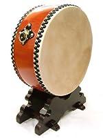 【舞台用太鼓】水牛皮 平太鼓 直径54cm 台付き