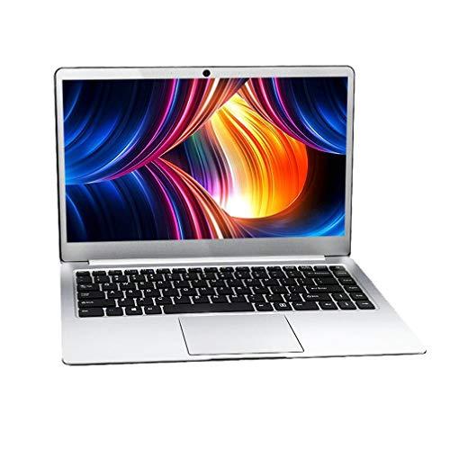 14 inch Laptop Notebook Computer PC, Tragbares Geschäftsbüro für Studenten, Full HD 1920 x 1080, Intel J3455 Quad-Core CPU, 6GB RAM 128GB SSD, Windows 10 Pro OS, Front Camera + Microphone, Wi-Fi, D4