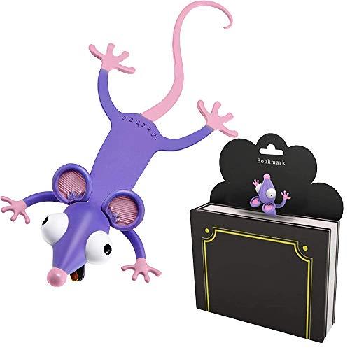 Marcador de Libros 3D,Marcapáginas de Regalo para Niños,Marcador de Paginas para Libros,Marcapáginas de Regalo,Marcador Niños Animales,Marcador de Libro